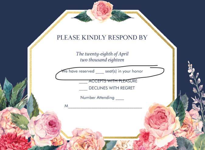 How To Word Your Invitations For An Adults Only Wedding