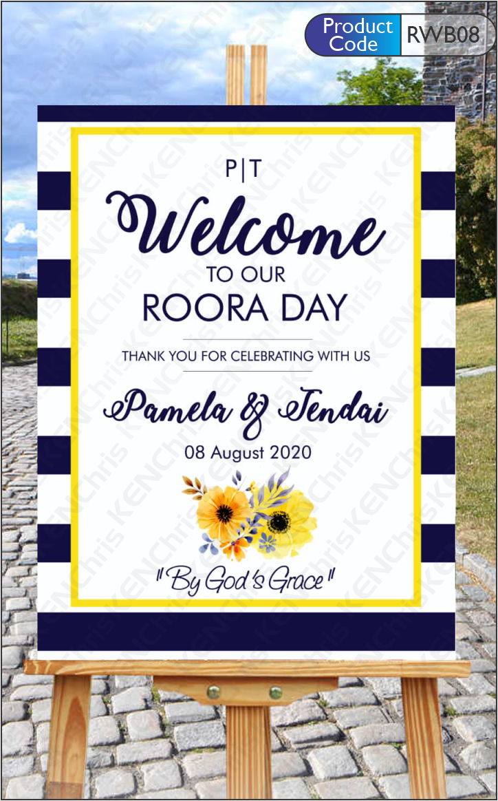 Events Welcome Boards